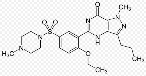 カマグラの化学的構造